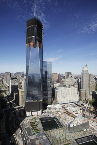 Construction Company Building Freedom Tower